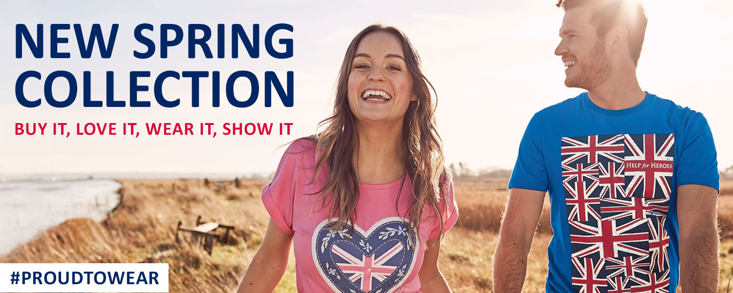 Help for Heroes New Spring Collection