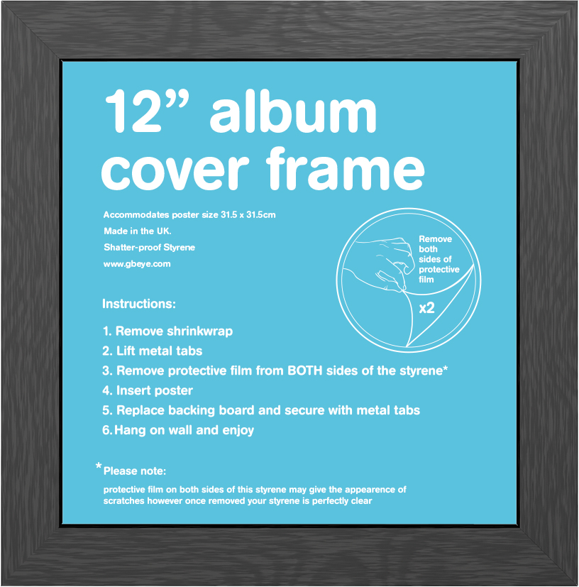 frame bundles album black