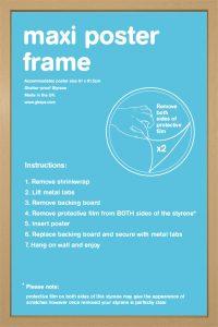 Frame Bundles - maxi oak