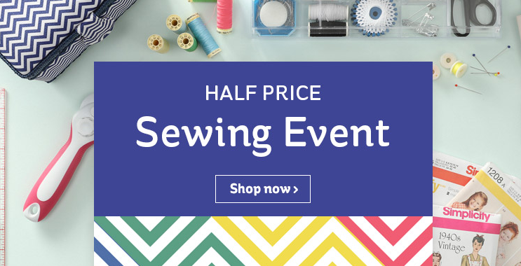 The Hub Half Price Sewing Event Half Price Box Frames From