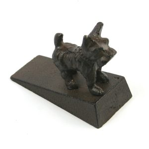 Cast Iron Westie Doorstop