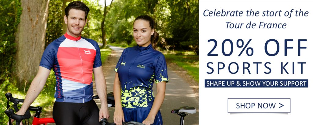 Discount on sports kit