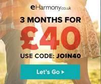 eharmony 3 month promo code 2017