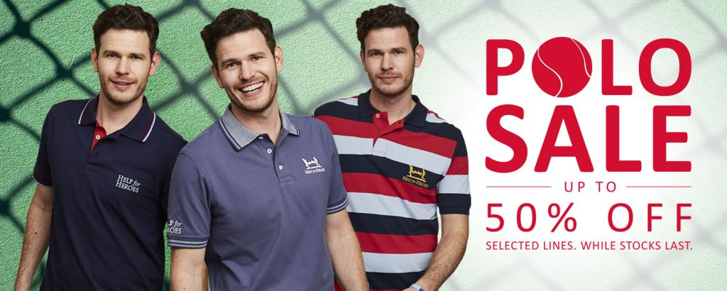 Polo shirt offer Help for Heroes
