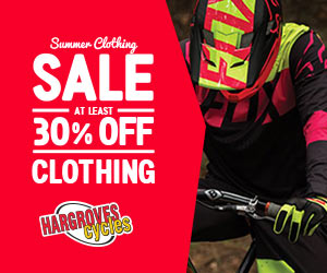 At Least 30% Off Summer Clothing Sale At Hargroves Cycles