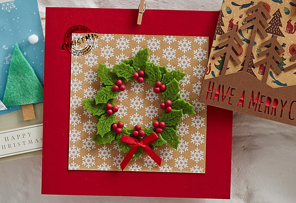 The Hub » Half price box frames & Christmas card making!