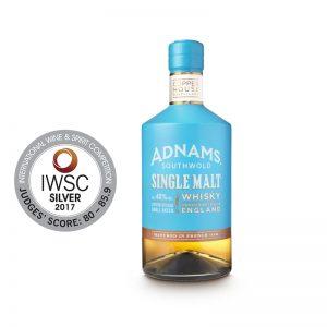 Adnams whisky and awards