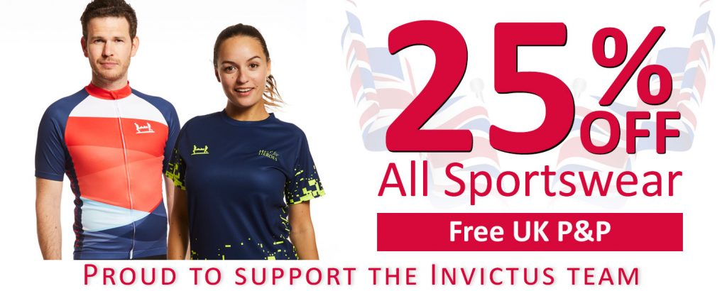 25% off Sportswear at help for heroes