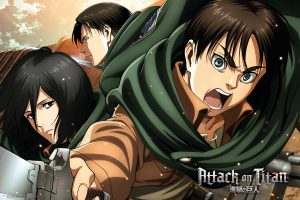 Back to college - attack on titan