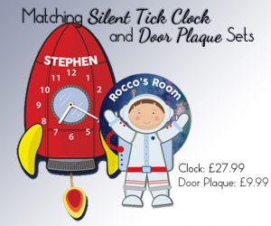 spaceman clock