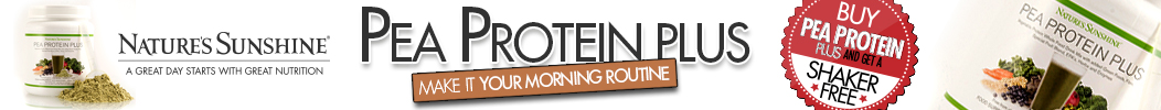 Pea Protein Banner