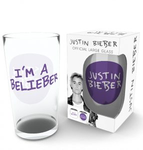 Black Friday 2017 - Justin Bieber Pint Glass