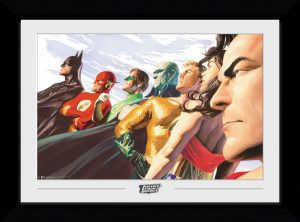 Collector Prints - Justice League