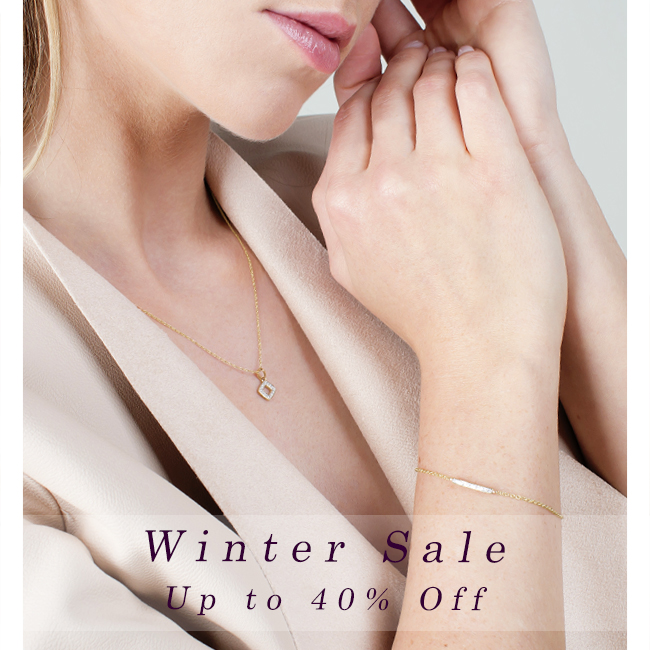 Gemondo jewellery Winter Sale