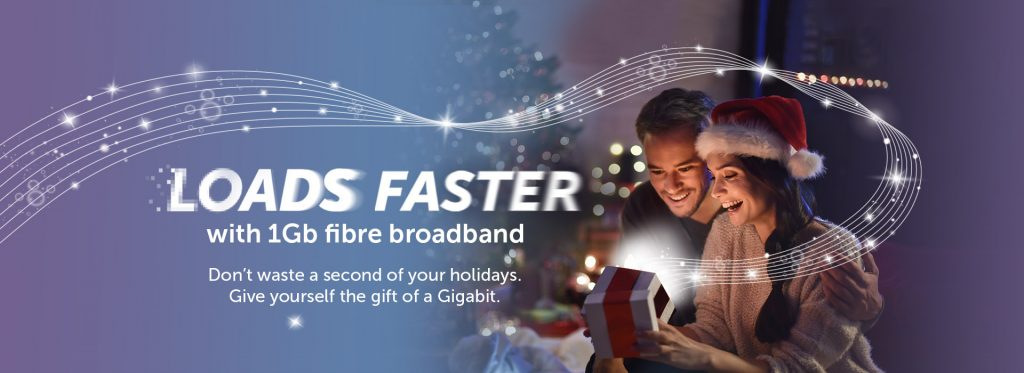Hyperoptic is giving the gift of a Gigabit– plus loads more!