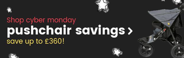 Cyber Monday pushchair savings