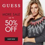 GUESS Sale up to 50% off