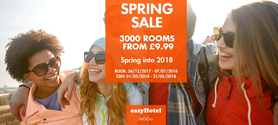 Spring Sale easyHotel