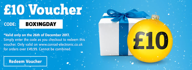 Boxing Day - £10 Voucher