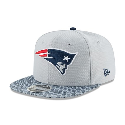 NEW ENGLAND PATRIOTS 2017 SIDELINE NAVY 59FIFTY