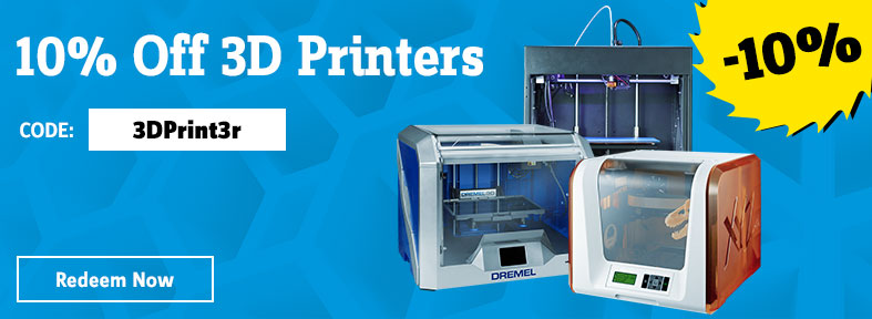 10% off all 3D printers