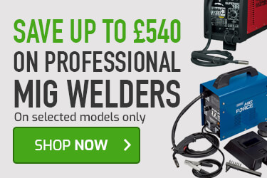 Save up to £50 on MIG welders