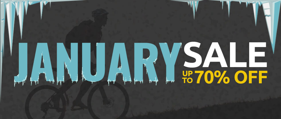Save up to 70% at Tweeks Cycles January Sale