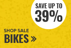 Save up to 39% on bikes