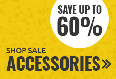 Save up to 60% on accessories