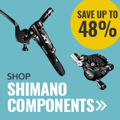 Save up to 48% on Shimano Components