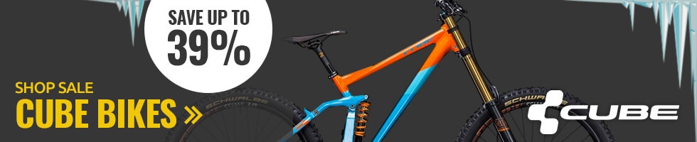 Save up to 39% on Cube bikes