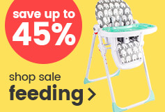 Save up to 45% on feeding essentials