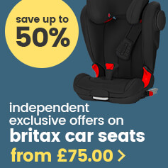 Save up to 50% on Britax car seats