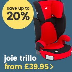 Joie Trillo car seat from £40.00