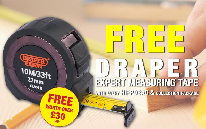 FREE Draper Expert 10m Measuring Tape