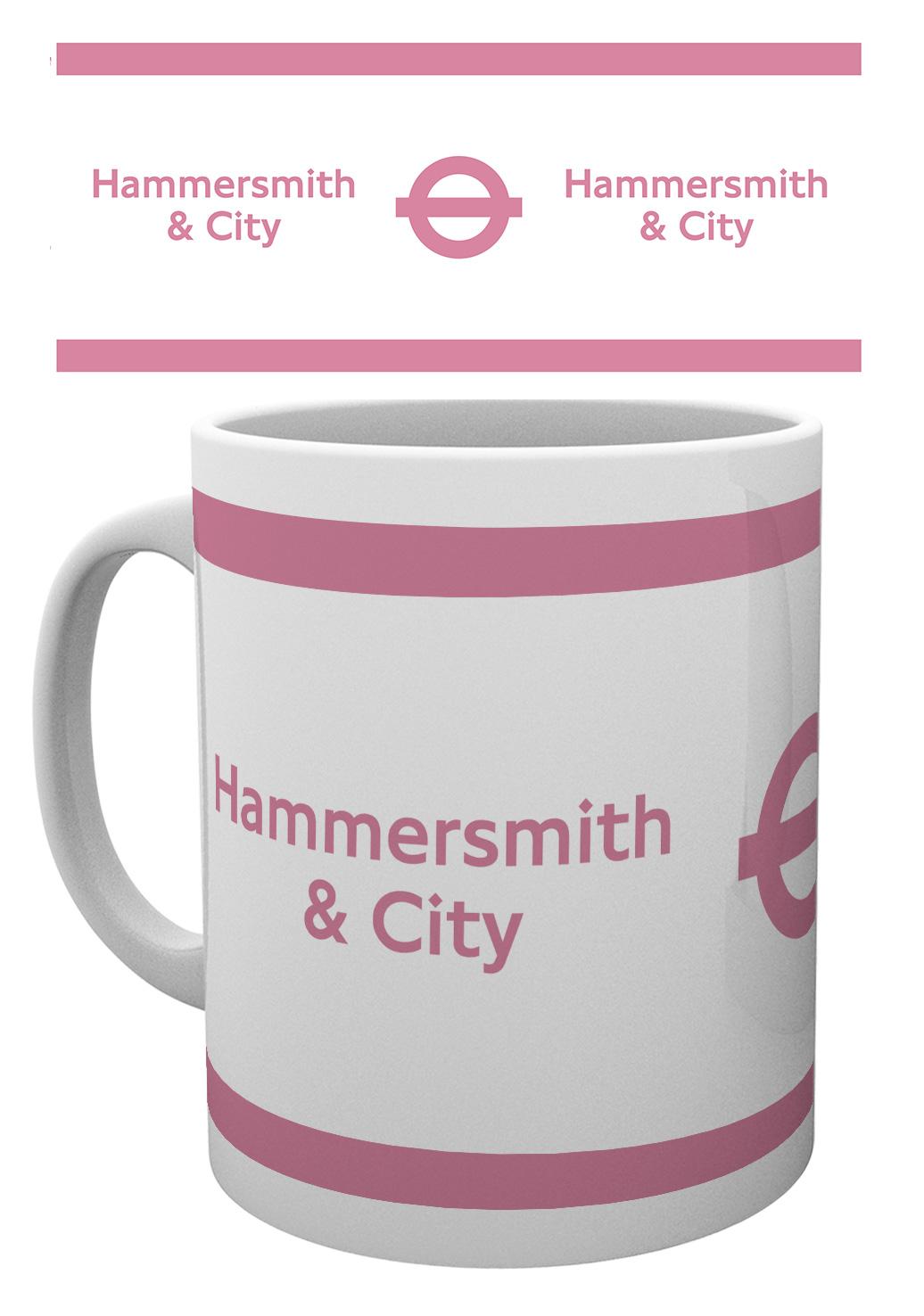 TFL hammersmith mug