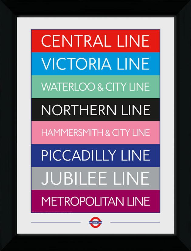 TFL lines collector print
