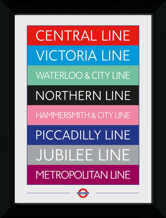 TFL lines collector print