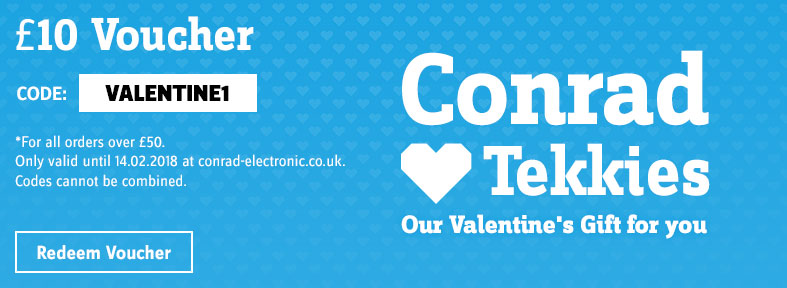 Valentine's Day - £10 Voucher