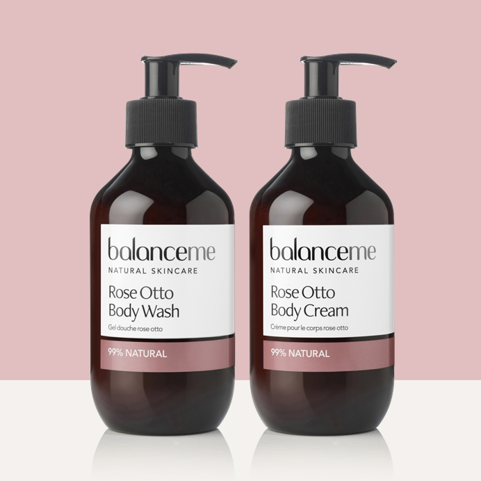free Rose Otto Body Wash & Body Cream