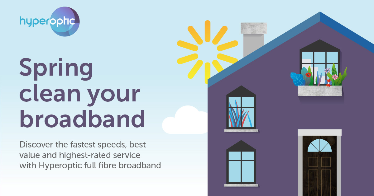 Spring clean your broadband