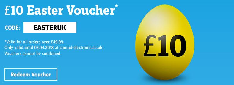 Easter - £10 Voucher