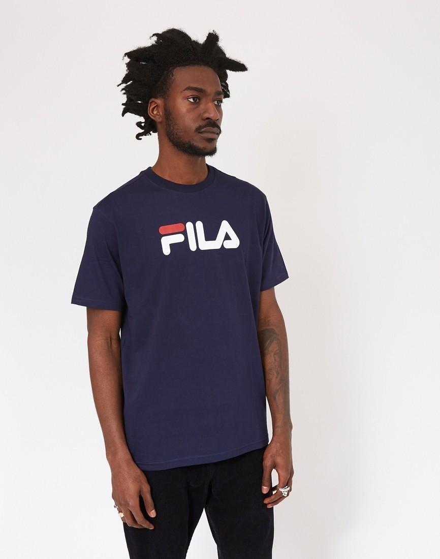 4d1984dc63b6 Fila - Black Line Eagle T-Shirt Dark Navy - £25.00