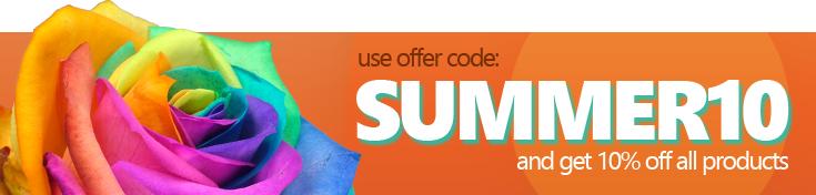 interROSE.co.uk - Use code SUMMER10 for 10% off