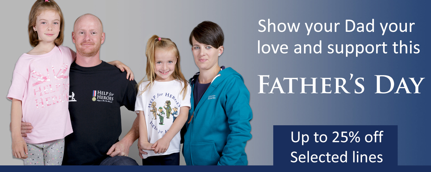 Help for Heroes Father's Day