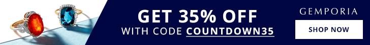 Get 35% Off Sitewide at Gemporia.com.