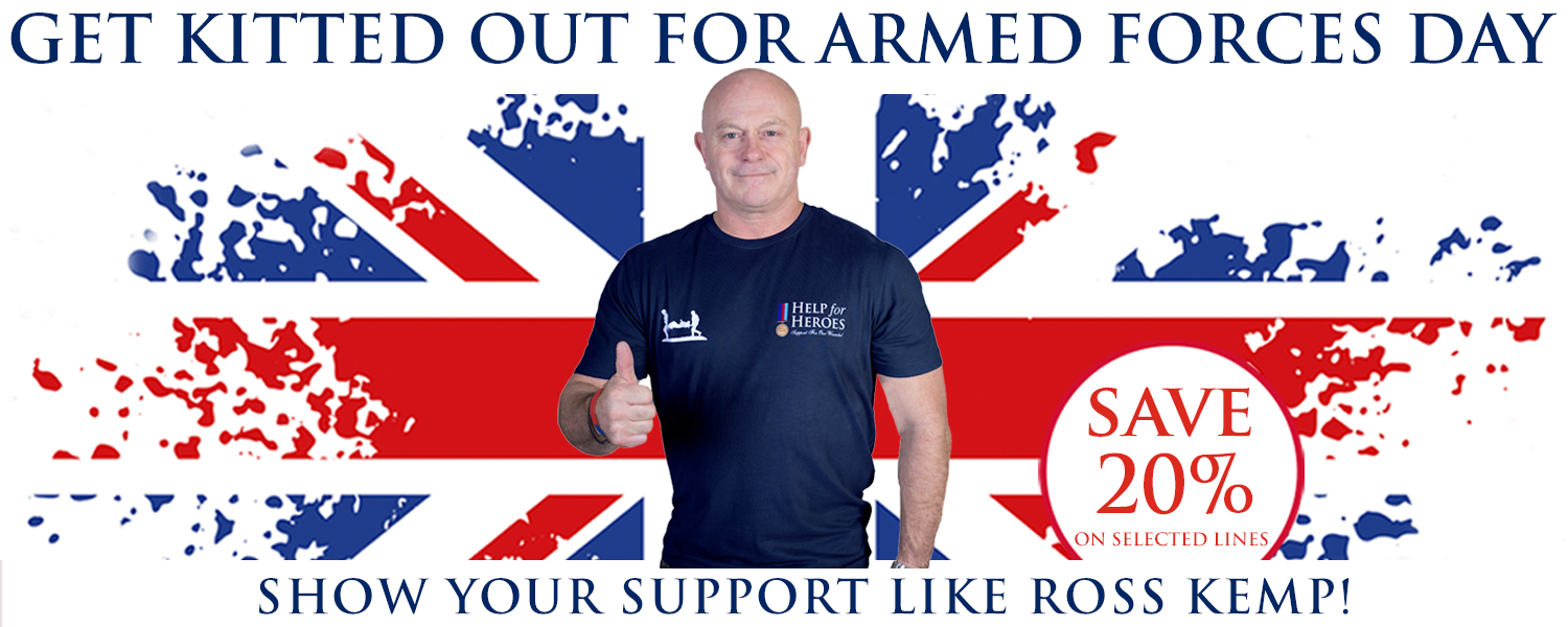 Help for Heroes Sale - Up to 20% off