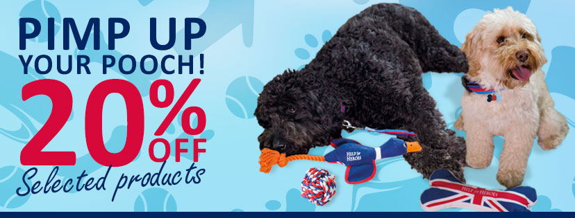 Pet Product Sale - Help for Heroes