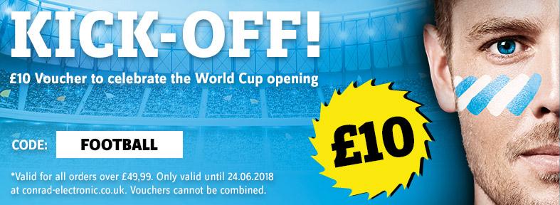 World Cup - £10 Voucher