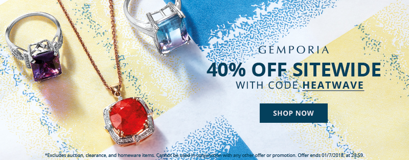 Get 40% Off at GEMPORIA.COM this week with code: HEATWAVE